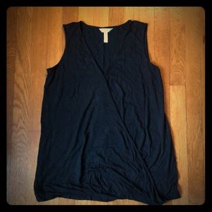 Black sleeveless blouse from Soma
